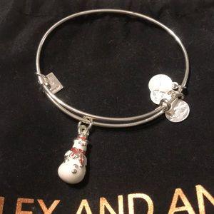 Alex andAni snowman bracelet